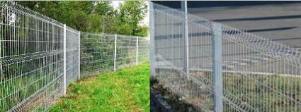 Забор из сварной сетки Еврозабор